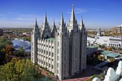 USA- Salt Lake mormon templom